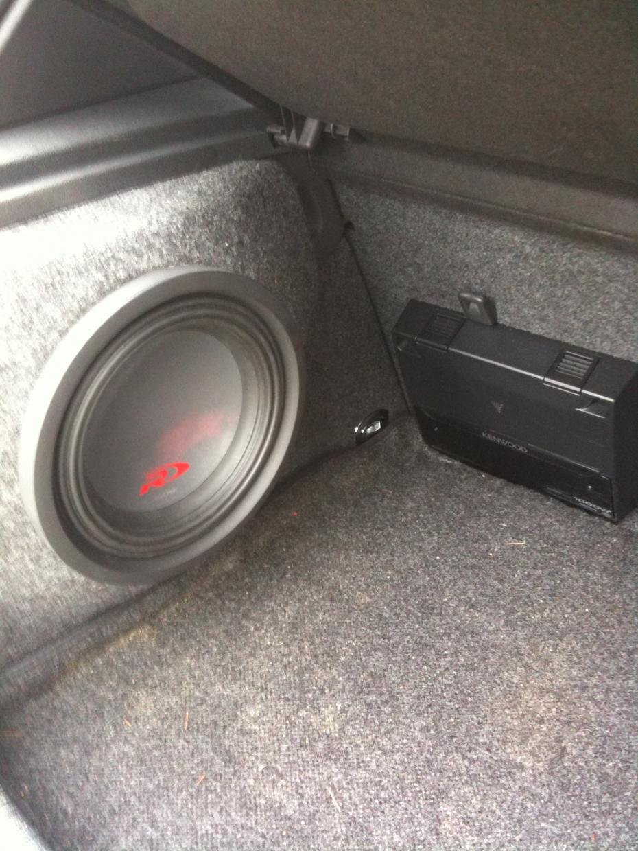 Vwvortex Com Wtb Gti Trunk Subwoofer Enclosure